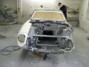 240Z shell from front