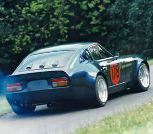 Datsun 240Z race and hill climb car