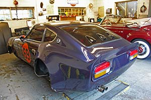 Racing Datsun Z Car